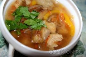 рецепт китайского супа с фунчозой